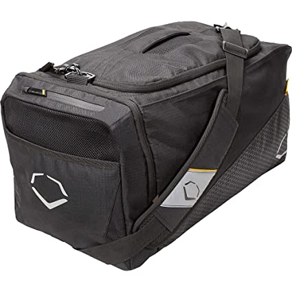 9e1288cccdd4 Amazon.com: Evoshield Team Duffel Bag Smoke Series Black 2044240.100 ...