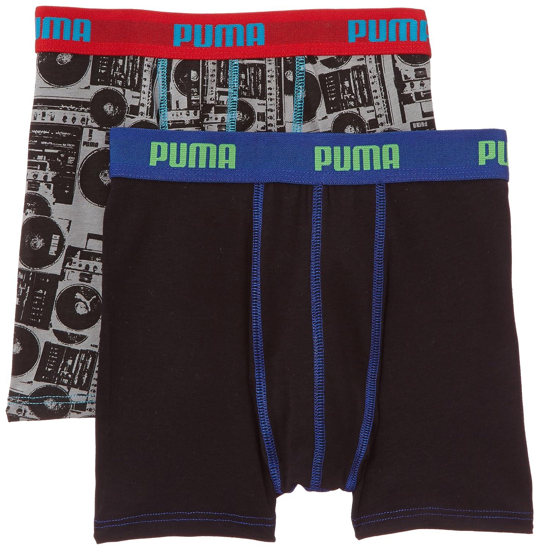 Puma - Calzoncillo para niño, talla Small (Taille fabricant: 122/128) - talla francesa, color negro/gris: Amazon.es: Ropa y accesorios