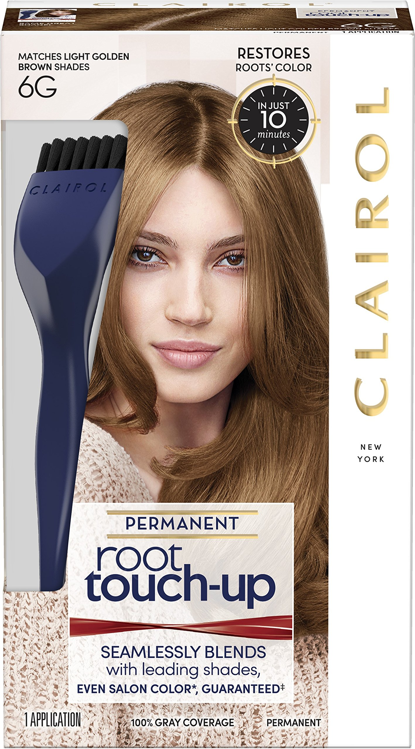 Nice 'n Easy Root Touch-Up, Light Golden Brown [6G] 1 ea (Pack of 10) by Clairol