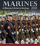 Marines Chronology Wall Calendar 2018