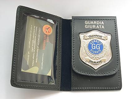 orologio e806c d73bc PORTAFOGLIO-PORTADOCUMENTI CON PLACCA GUARDIA GIURATA