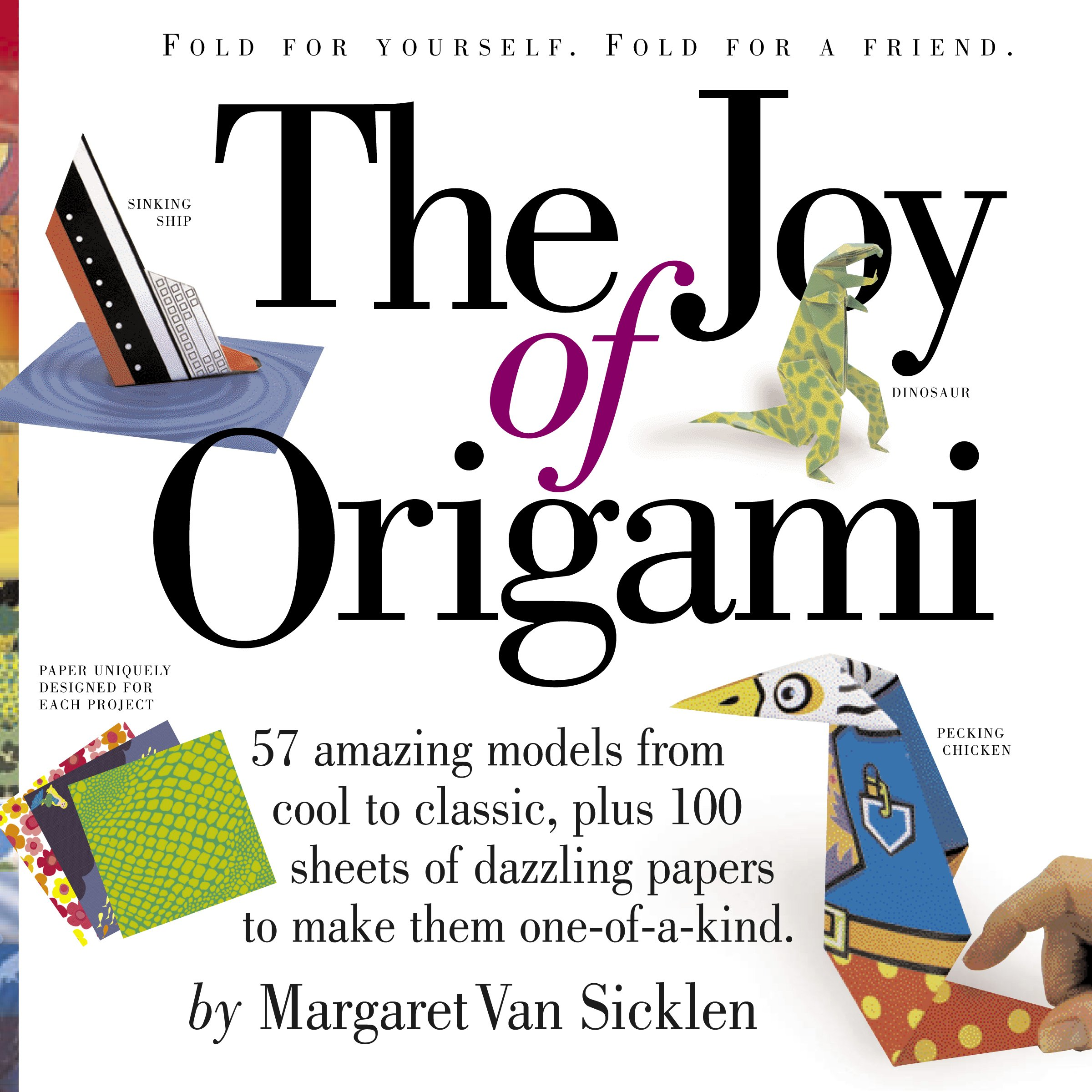 The Joy of Origami [With 100 Sheets of Origami Paper ...