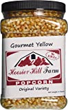 Popcorn American Gourmet Yellow (1,8 Kilograms) Real USA Popping Corn Kernels by Hoosier Hill Farm