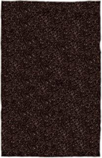 product image for Super Shag Area Rug Shaw Swag Collection Cocoa Quartz 12 Feet x 15 Feet.