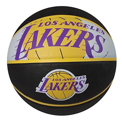 5d24038b68a Spalding NBA Los Angeles Lakers Courtside Rubber Basketball  Amazon.in   Sports
