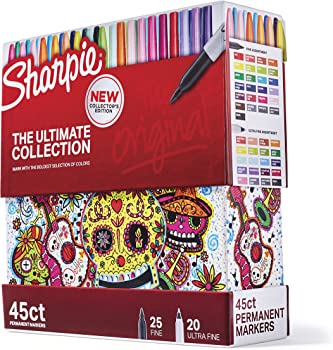 45-Count Sharpie The Ultimate Collection Permanent Markers
