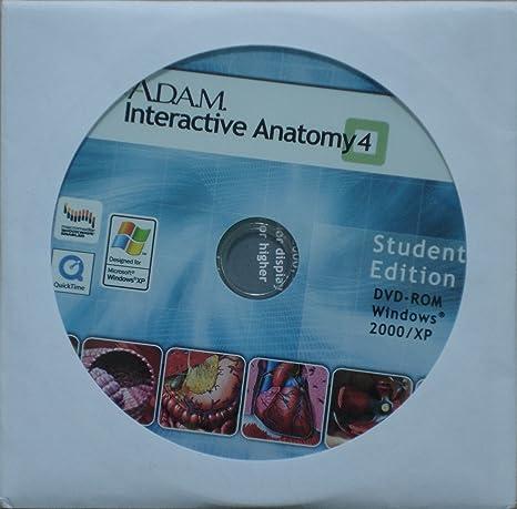 Amazon Adam Interactive Anatomy 4 Students Edition Software