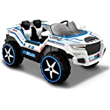 Kid Motorz Dune Runner 2 Seater Space Adventure 12V Electric Ride On with Sound, Daytime Running Led Light & Foldable Mirrors Battery Powered Riding Toy Ride On