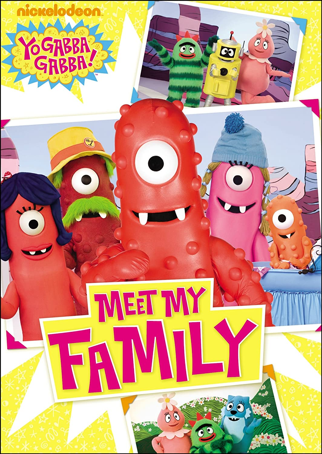 Amazon Yo Gabba Gabba Meet My Family Yo Gabba Gabba Movies Tv