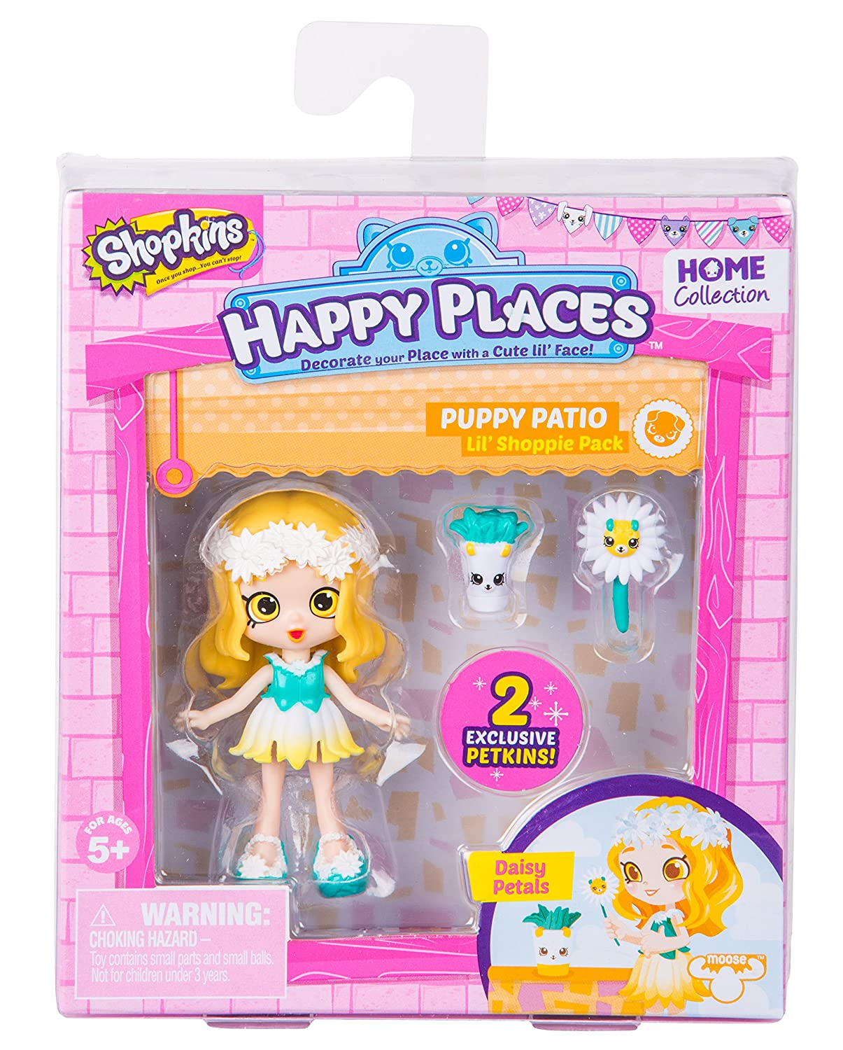 Amazon Shopkins Happy Places Season 2 Doll Single Pack Daisy Petals Toys Games