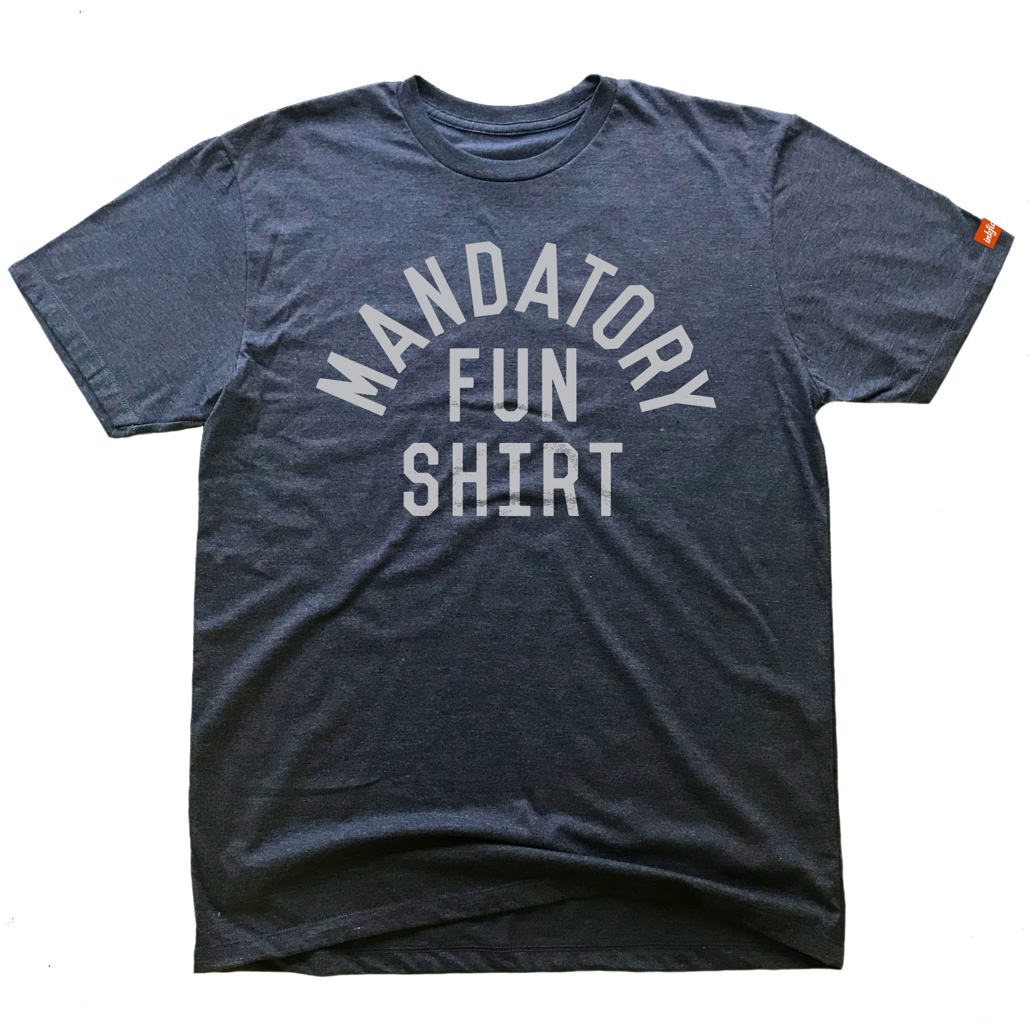 Inkfidel Mandatory Fun Beat Navy! Blue Military Tshirt Army USMC Marine Veteran Apparel (X-Large)