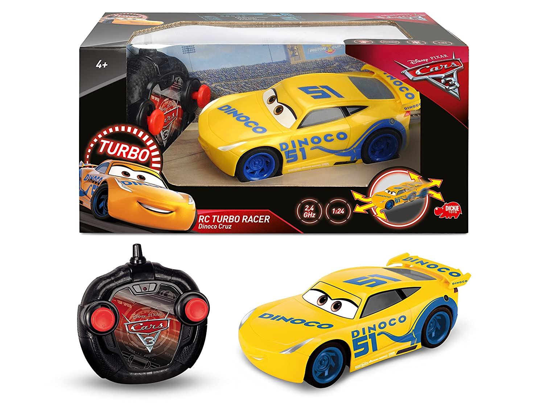Cars 3 - Coche Radio Control Cruz Ramirez (Simba 3084004): Amazon.es: Juguetes y juegos