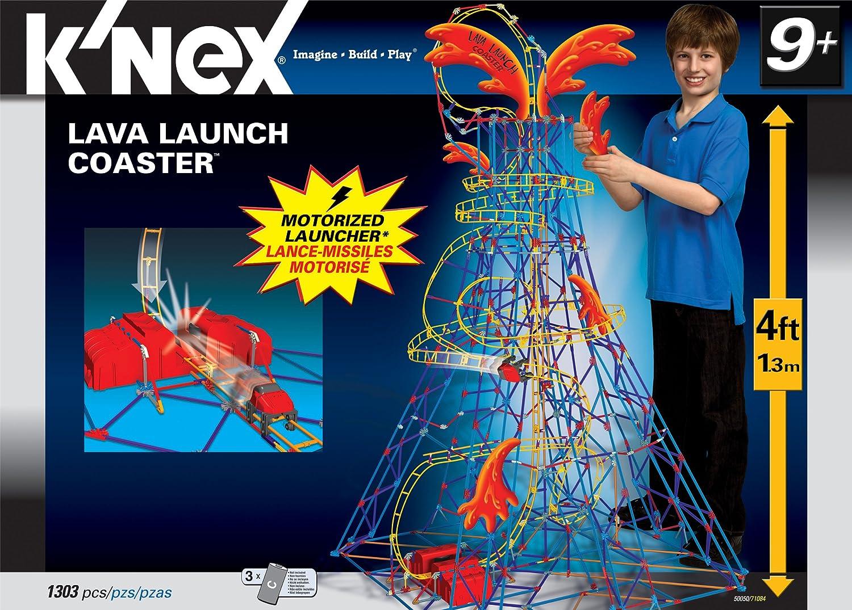 KNex Lava Launch Coaster