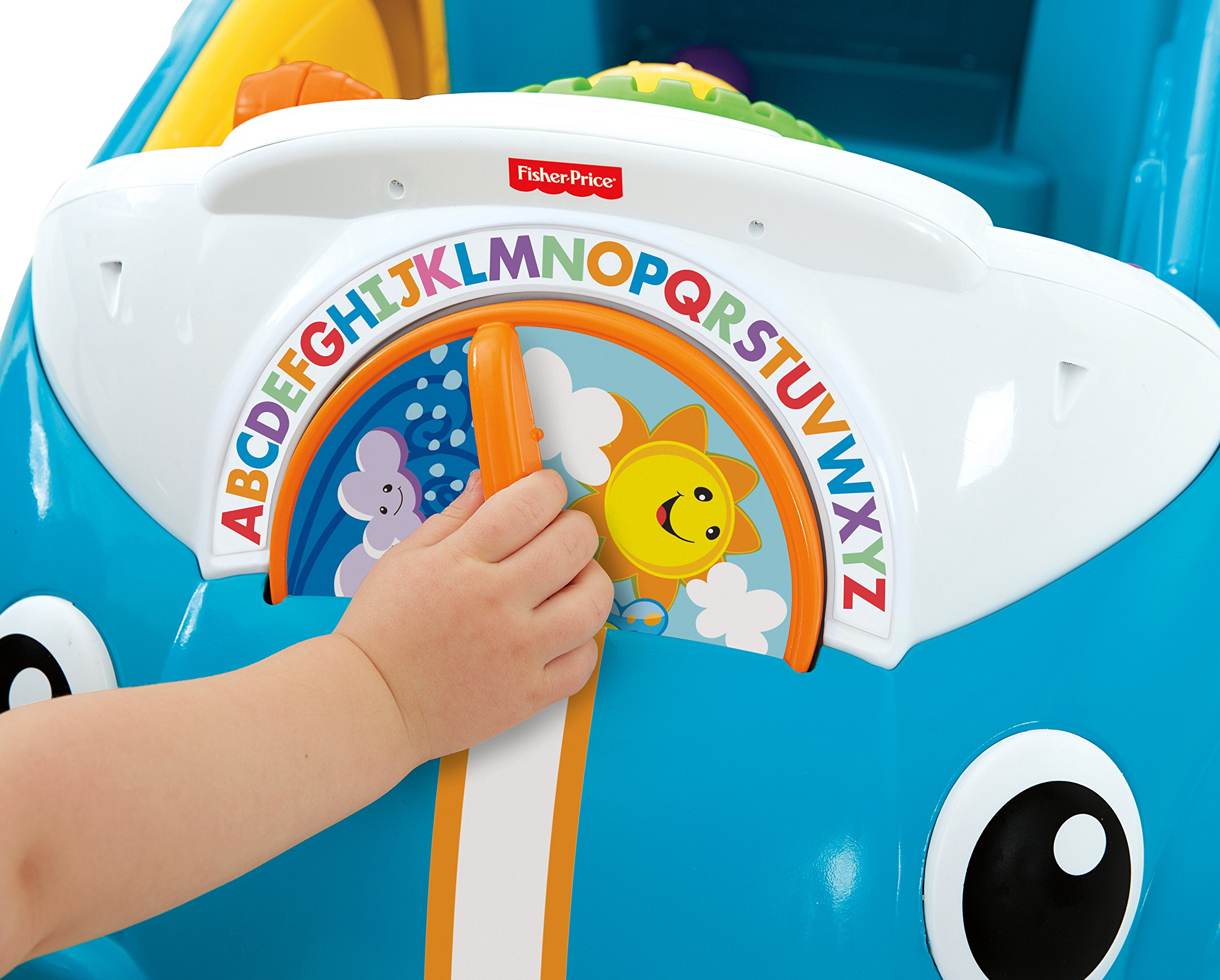 Fisher-Price Laugh & Learn Smart Stages Crawl Around Car, Blue by Fisher-Price (Image #8)