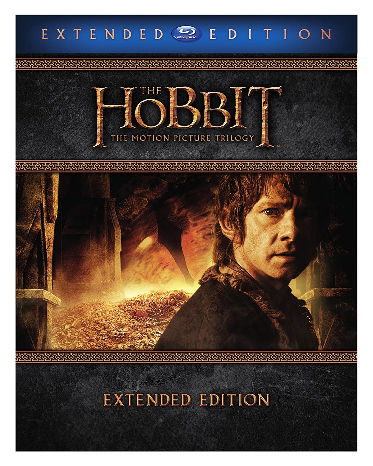 Hobbit: The Motion Picture Trilogy (Extended Edition) [Blu-ray] B014GJBTWI