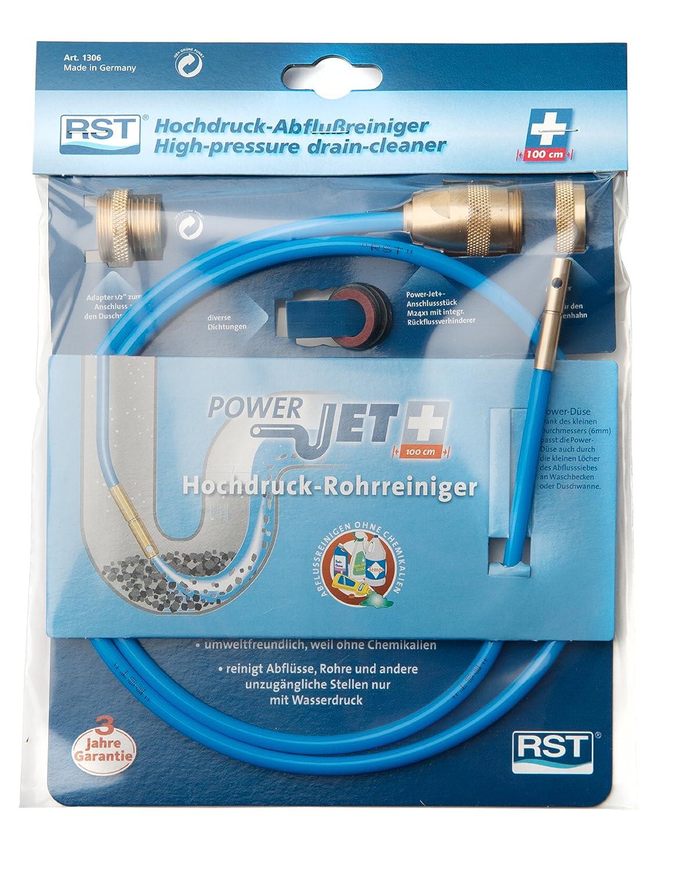Herramienta neum/áticas para limpieza de desag/ües RST 1306 pl/ástico color: azul