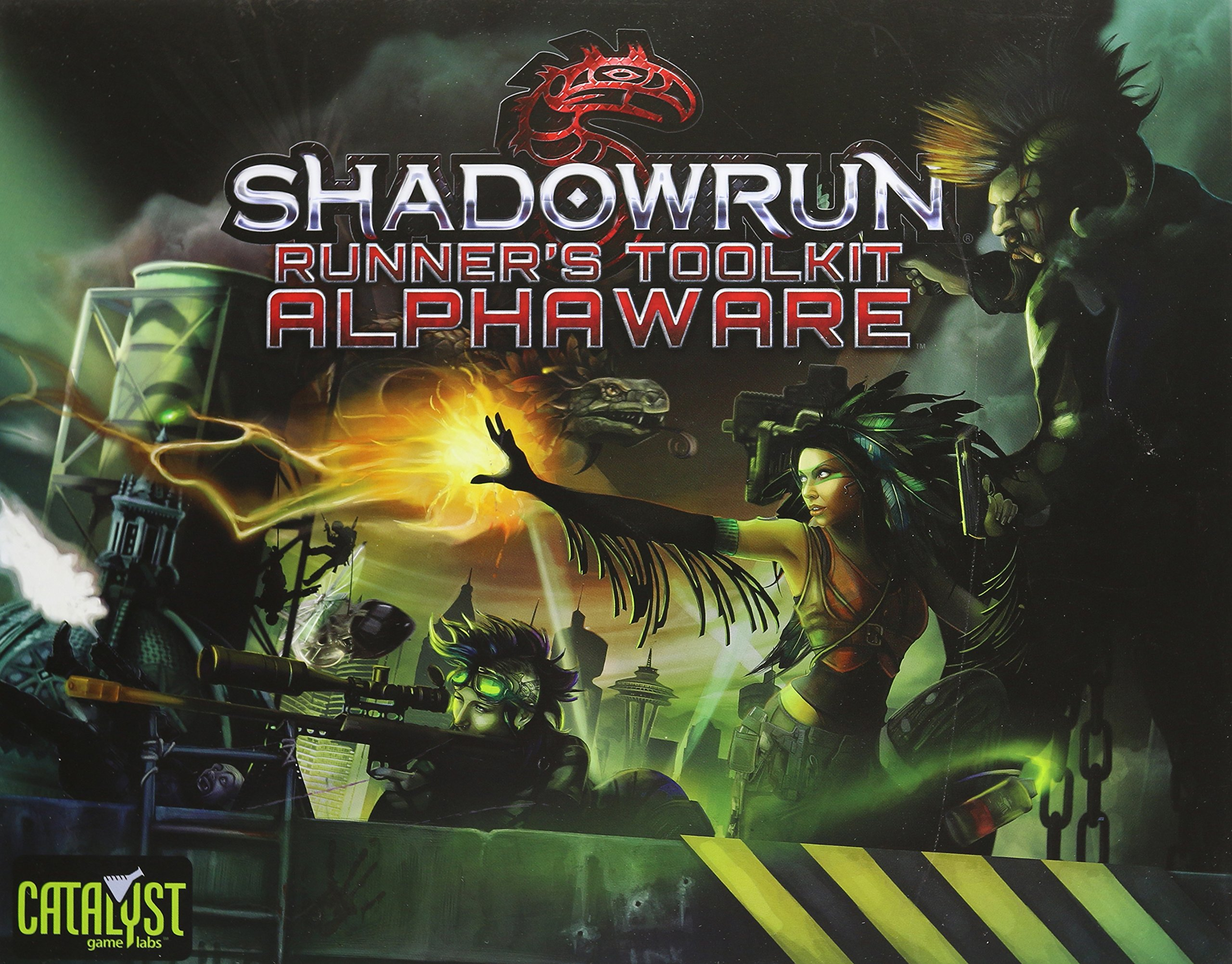 Shadowrun Runners Toolkit Alphaware: Catalyst Game Labs ...