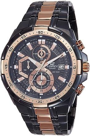 b957867e5a01 Casio Edifice Chronograph Black Dial Men s Watch - EFR-539BKG-1AVUDF (EX220)