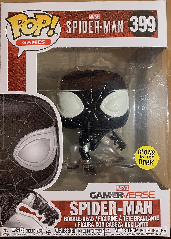 Marvel Spiderman Mister Negative Exclusivo Gamerverse Brilla nel Buio 31294 Desconocido Funko Pop Games