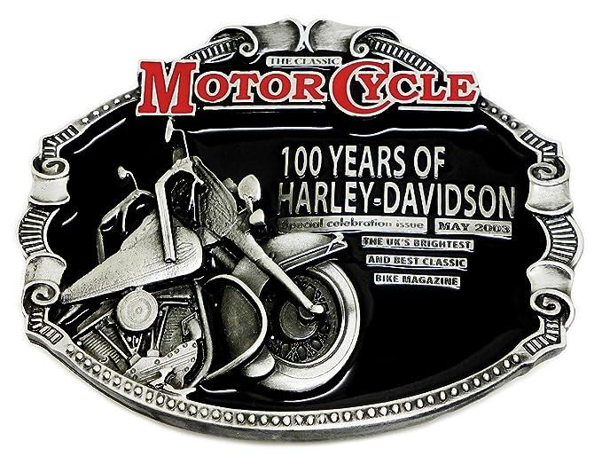 078c036a155 Harley Davidson Boucle de Ceinture - 100 Ans de Harley Conception Licence  Officielle - Authentique Dragon