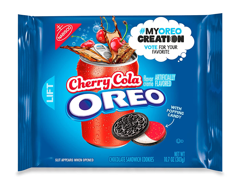 Amazon.com: Oreo Cherry Cola Chocolate Sandwich Cookies - My Oreo ...
