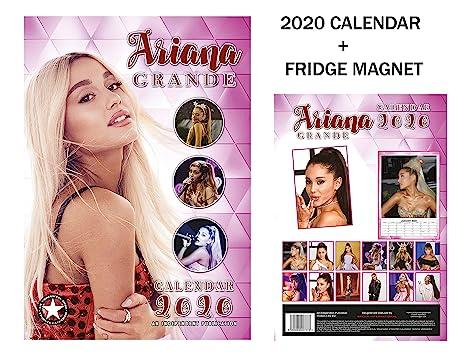 Ariana Grande Calendario.Ariana Grande Calendario 2020 Ariana Grande Frigorifero