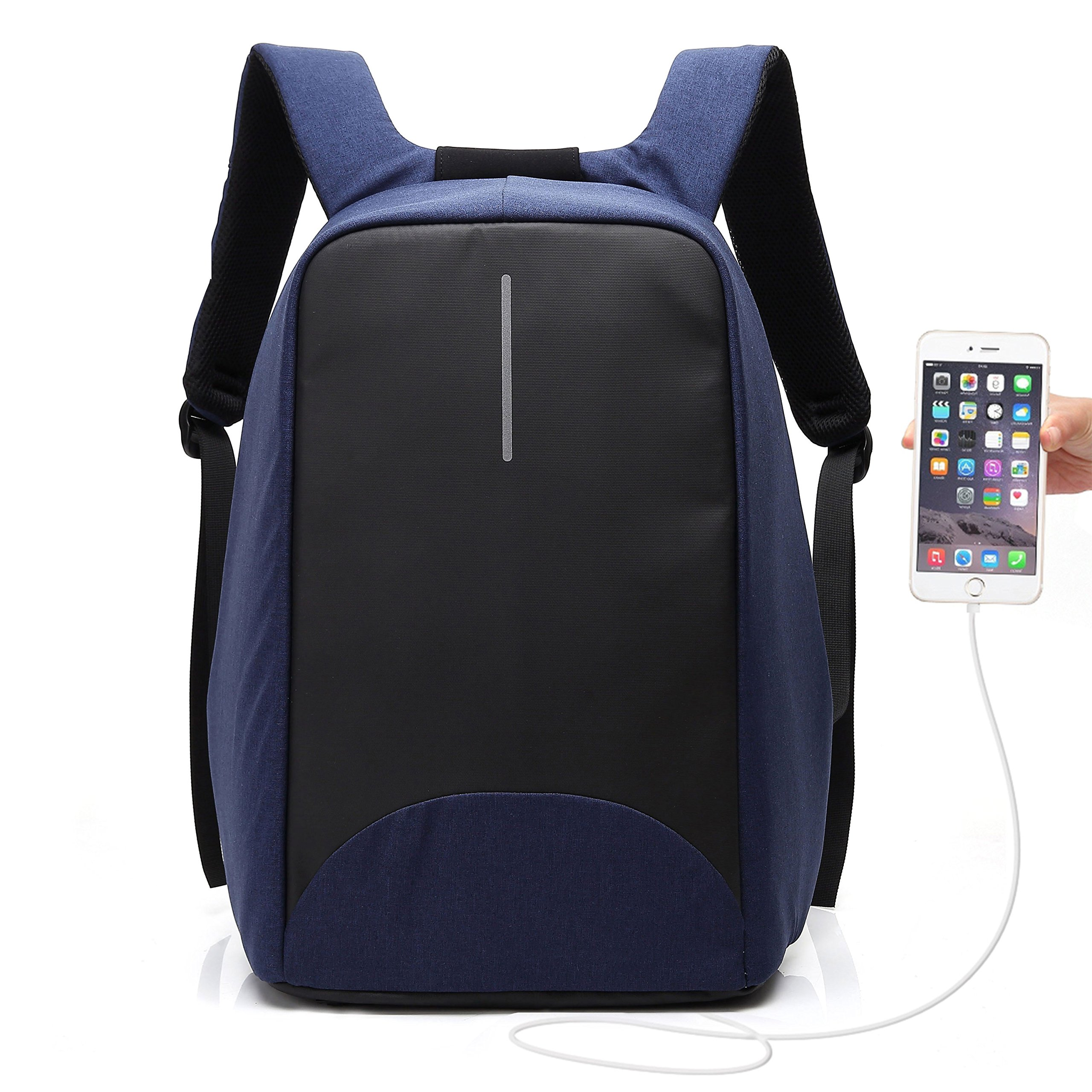 3069c0dc80b2 Galleon - 15.6 Inch USB Charging Laptop Backpack