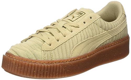 Puma Vikky Platform L, Sneaker Donna, Beige (Safari-White), 40 EU