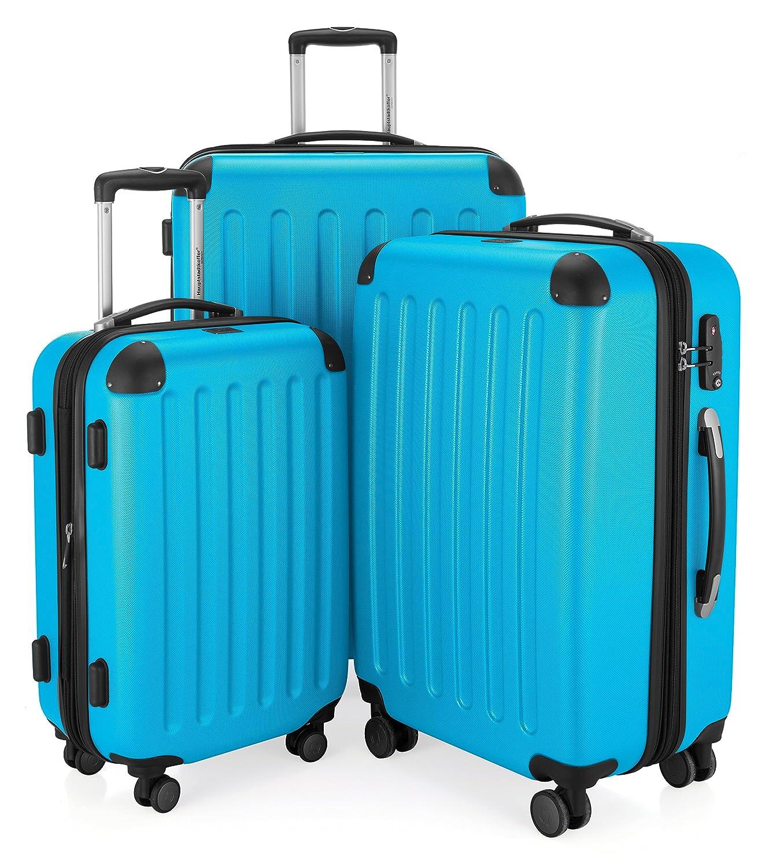 Hauptstadtkoffer Juego de maletas Cyanblau azul HK CB