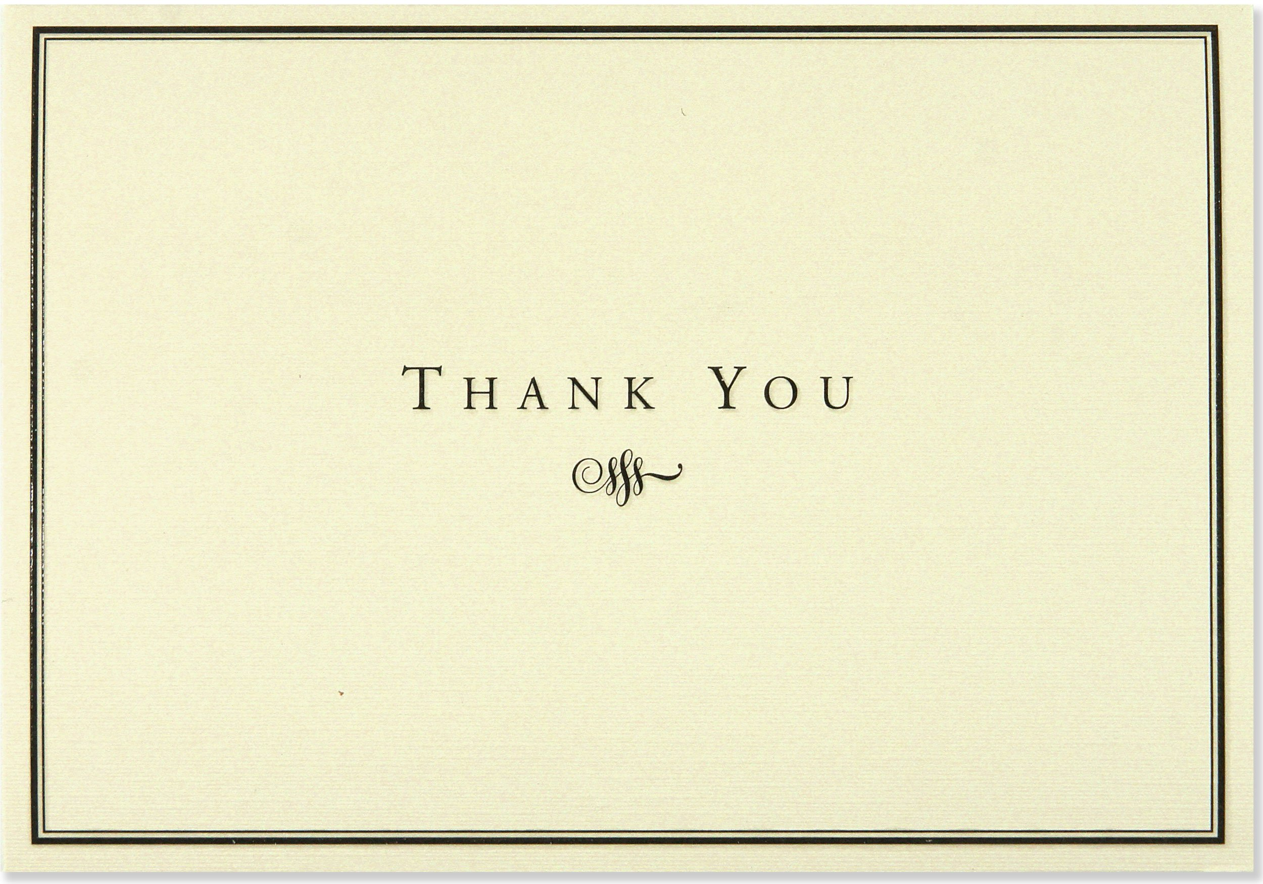 Black and cream thank you notes stationery note cards note card black and cream thank you notes stationery note cards note card series amazon peter pauper press 9781593591069 books thecheapjerseys Images