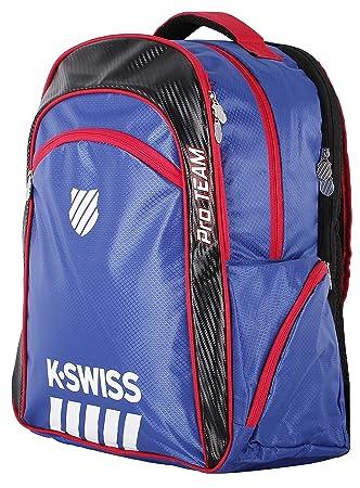 K-Swiss Hypercourt Pro Team Bagpack, Color Azul,Negro Mochila, Pádel, Talla Única: Amazon.es: Deportes y aire libre