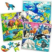 Quokka Puzzle de Madera Niños 4 5 6 7 Años - 3 Juguetes Niños 4 Años 30 Piezas Puzzle Madera - Juegos Infantiles…