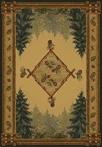FOREST TRAIL LOD Rug from the GENESIS Collection 63 x 90 by United Weavers
