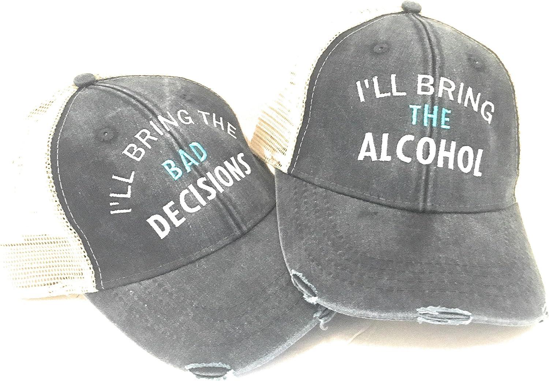 Black Distressed Keep Set It Off Movie Dad Cap Hat