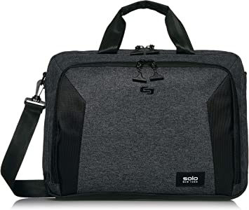 Solo New York Nomad Route Slim, 15.6 inch Laptop Bag, Lightweight Briefcase with Shoulder Strap for Women, Men
