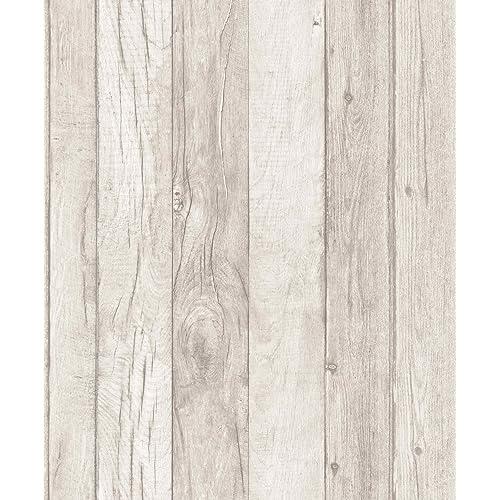 Grandeco A17404 Wood Pattern Line Wallpaper, Multi Colour, 10.05 X 0.53 M