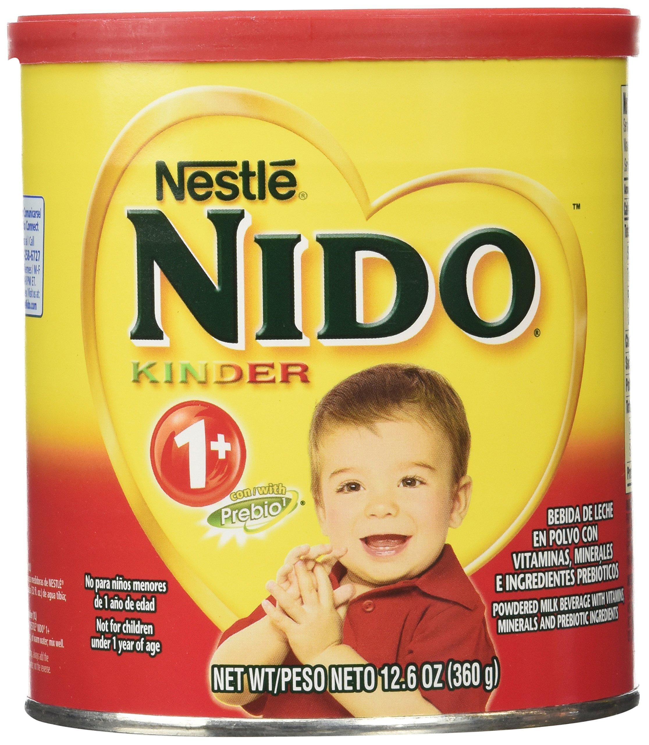 Amazon.com : Nido Kinder Milk by Nestle 360 g : Powdered Milk : Grocery & Gourmet Food