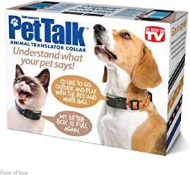 "Prank Pack""Pet Talk, Animal Translator Collar"" - Wrap Your Real Gift in a Funny Joke Gift Box - by Prank-O"