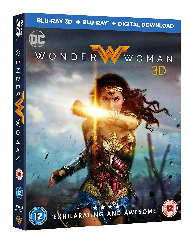 Wonder Woman Blu-ray 3D + Blu-ray + Digital Download + Limited