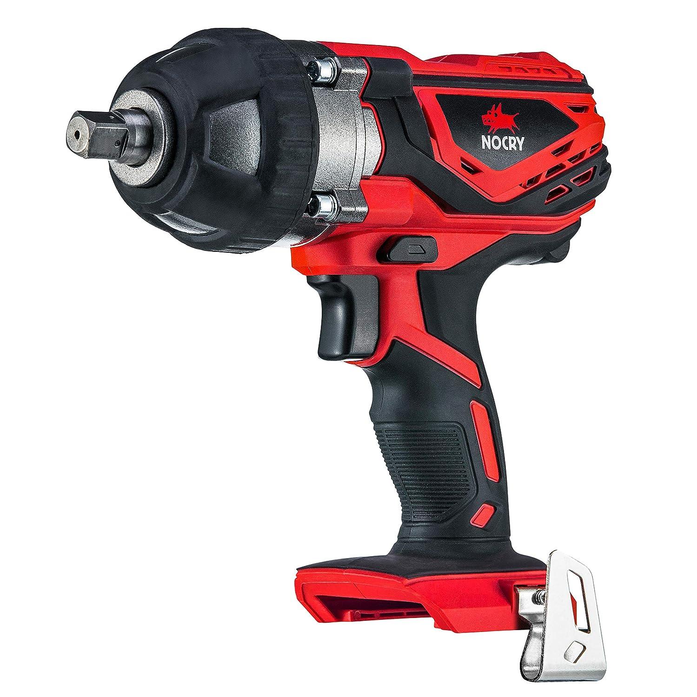Rastamboss 12,7 mm NoCry 20V Akku Impulsschrauber mit 400 Nm Drehmoment 1//2 Zoll 2700 Max IPM 2200 Max U//min /& G/ürtelclip Akku und Ladeger/ät NICHT enthalten
