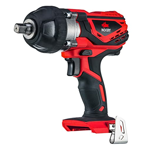 NoCry 20V Cordless Impact Wrench – Bare Tool ONLY with 300 ft-lb 400 N.m Torque, 1 2 inch Detent Anvil, 2700 Max IPM, 2200 Max RPM Belt Clip