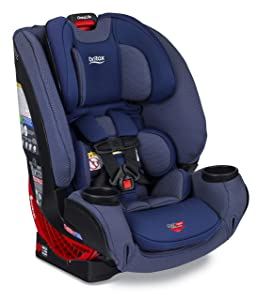 Britax One4Life ClickTight All-in-One Car Seat – 10 Years of Use – Infant, Convertible, Booster – 5 to 120 Pounds - SafeWash Fabric, Cadet