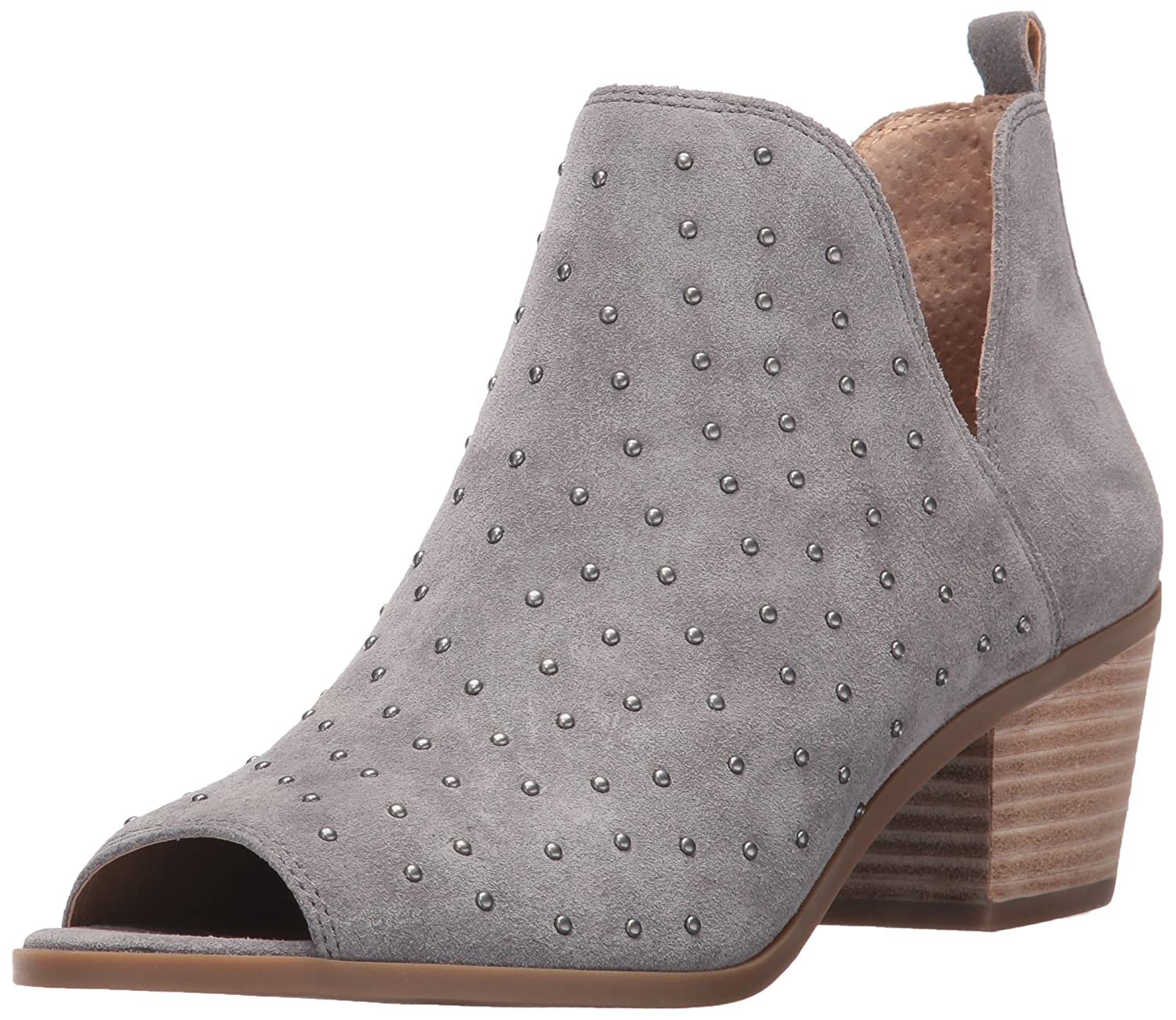 Lucky Brand Women's Barlenna Ankle Boot B06XS766QT 5.5 B(M) US|Steel Grey
