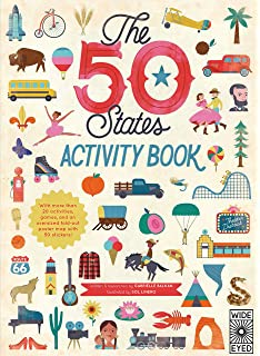 Atlas of adventures activity fun pack with a coloring in book huge the 50 states activity book maps of the 50 states of the usa gumiabroncs