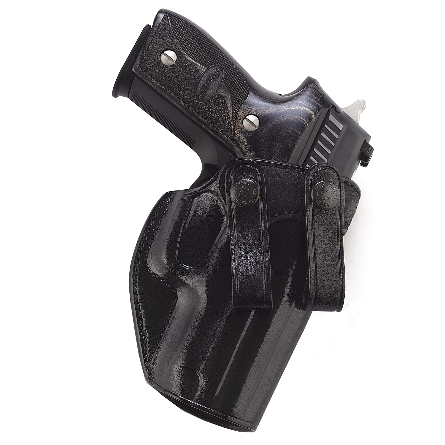 Galco International Summer Comfort Inside Pant Holster for 1911, 5-Inch Colt, Kimber, Para, Springfield (Black, Right-Hand) SUM212B