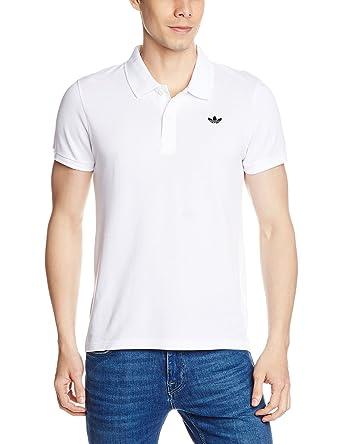 Amazon Com Adidas Originals Men S Originals Trefoil Polo Shirt