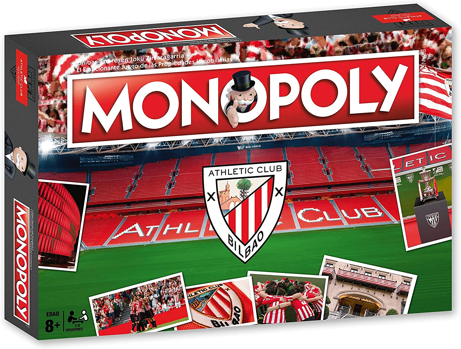 Athletic Club Bilbao Monopoly Athlétic Club (81120), Multicolor ...