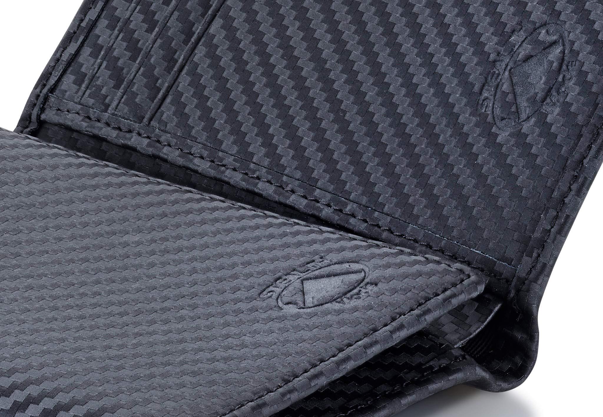 Stealth Mode Trifold RFID Blocking Carbon Fiber Wallet for Men by Stealth Mode (Image #5)