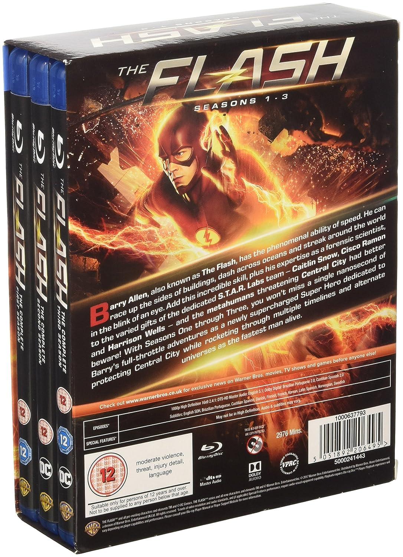 Amazon.com: Flash S1-3 [Blu-ray] [2017]: Grant Gustin ...