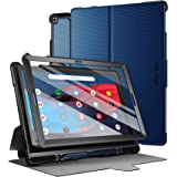 Poetic Explorer Series Designed for Google Pixel Slate Case, Full Body Triple Layers Tough 360 Degree Stand Folio Cover with